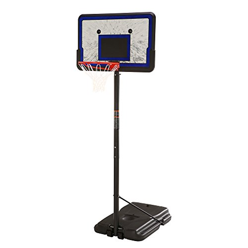 Lifetime Height Adjustable Portable Basketball System, 44 Inch...