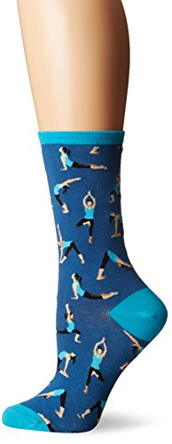 Socksmith Yoga People Blueberry One Size
