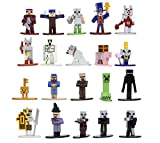 Minecraft Dungeons Nano Metalfigs 1.65' Die-cast Collectible Figures 20-Pack Wave 4, Toys for Kids and Adults