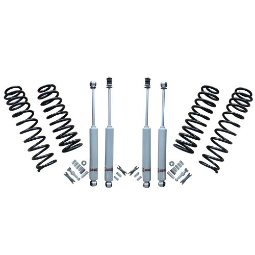 Freedom Offroad Suspension Spring Lift 2.5' / 2.0' Grand Cherokee w Shocks 1999-2004