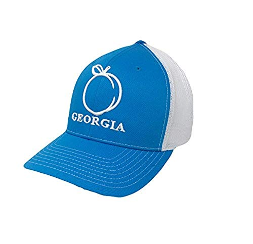 Heritage Pride Georgia Peach Embroidered Trucker Hat