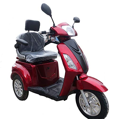 EV3 Electric Mobility Scooter (Burgundy)