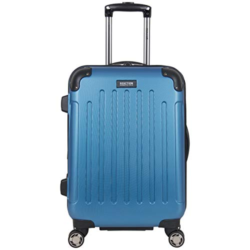 Kenneth Cole Reaction Renegade 20 Carry-On Lightweight Hardside Expandable 8-Wheel Spinner Cabin Size Suitcase, Vivid Blue, inch