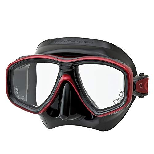 TUSA Tauchmaske M-212 Freedom Ceos - Schwarz Farbe...