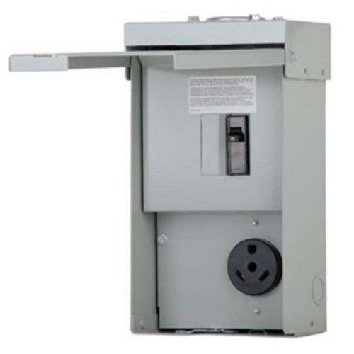 RV Power Outlet Panel