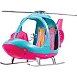 Barbie Helicopter, Pink and Blue with Spinning Rotor