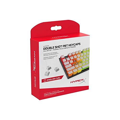 キングストン HyperX Double Shot PBT Keycapsフル104キーセット Pudding HyperXメカニカルキーボード対応 ...