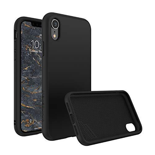 RhinoShield Coque pour iPhone XR [SolidSuit]   Housse Fine avec Technologie Absorption des Chocs & Finition Premium - [Résiste aux Chutes de Plus de 3,5 mètres] - Noir Classic