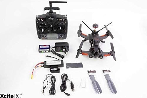 Walkera 15004600Runner 250PRO Racing Quadricottero RTFFPV con videocamera HD, GPS, OSD, Batteria, Caricabatterie e Telecomando Devo 7