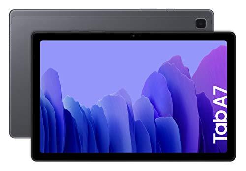"""Samsung Galaxy Tab A 7   Tablet de 10.4"""" (WiFi, Procesador Octa-Core Qualcomm Snapdragon 662, 3GB de RAM, 64GB de Almacenamiento, Android actualizable) Color Gris [Versión española]"""
