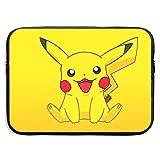 Funda para portátil Smile Pikachu impermeable, resistente a los golpes, para portátil de 13 a 15 pulgadas, tablet, iPad Tab de 13 pulgadas