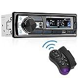 Aigoss Autoradio Bluetooth 60W x 4 FM Stéréo1 Din Radio, Lecteur MP3...