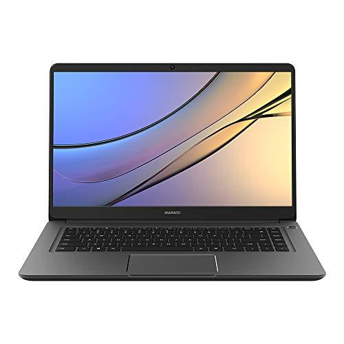 "HUAWEI MateBook D 15.6"" Laptop, 1080P FHD Ultrabook PC, Core i3-8130U, 8GB DDR4 +256GB SSD, Windows 10 Home, Grey"