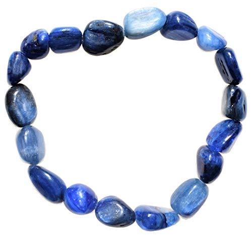 Zenergy Gems Charged Blue Kyanite Bracelet + Baby Moroccan...