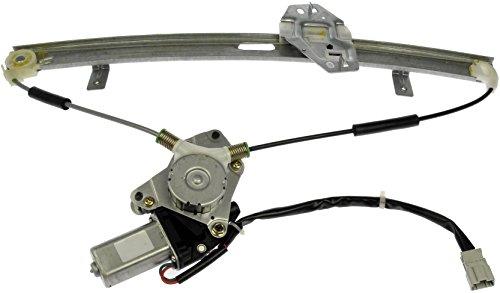 Dorman 741-766 Front Driver Side Power Window Motor and Regulator Assembly for Select Honda Models, Black