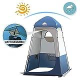 Qdreclod Portable Tente de Douche Camping, Étanche Cabine de Changement Extérieur Tentes de Toilette Abri de...