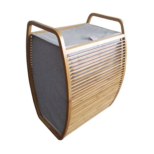 Möve Wäschekorb mit Deckel 40 x 35,5 cm, h 60 cm
