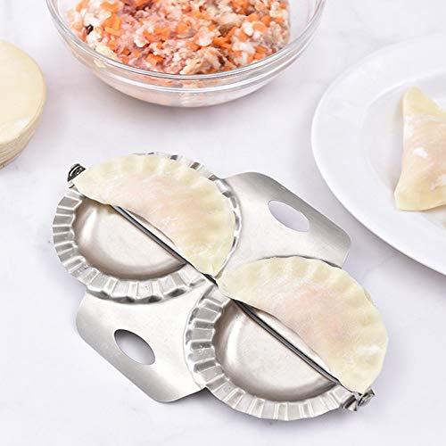 Molde Empanadillas Dumpling Maker, 1 Piezas Acero Inoxidable