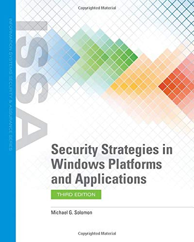 Security Strategies in Windows Platforms and Applications, 3rd Edition Front Cover