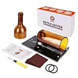 Genround Glass Bottle Cutter, O2 2020 [Upgrade Version] Bottle Cutter Machine DIY Bottle Candle Wind Chimes Arts and Crafts Making Tools for Party Decoration