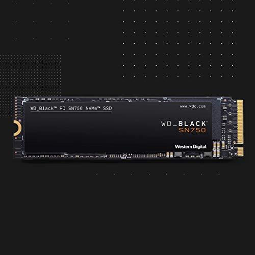WD_BLACK SN750 de 500 GB - SSD NVMe interno de alto rendimiento para...