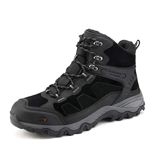 NORTIV 8 Men's Waterproof Hiking Boots