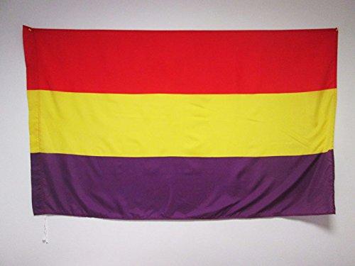 AZ FLAG Bandera ESPAÑA Republicana SIN Escudo 150x90cm para