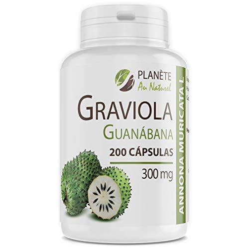 Graviola Guanábana - 300 mg - 200 cápsulas