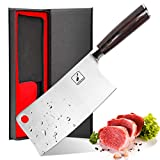 Cleaver Knife - imarku 7 Inch Meat Cleaver - 7CR17MOV German High Carbon Stainless Steel Butcher Knife with Ergonomic Handle for Home Kitchen and Restaurant, Ultra Sharp