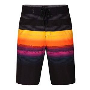 Hurley Men's Phantom Stretch Printed 20″ Boardshort Swim Short