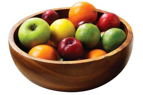Premier Housewares Kora Fruit, SalatSchüssel, Akazienholz