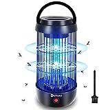 AETKFO Lampe Anti Moustique Electrique, 360° UV Tue Mouche Electrique, Répulsifs à Moustiques Non...