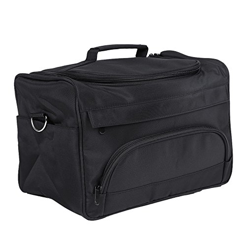Anself Salon Barber Tool Bag Portable Travel MUA Case for...