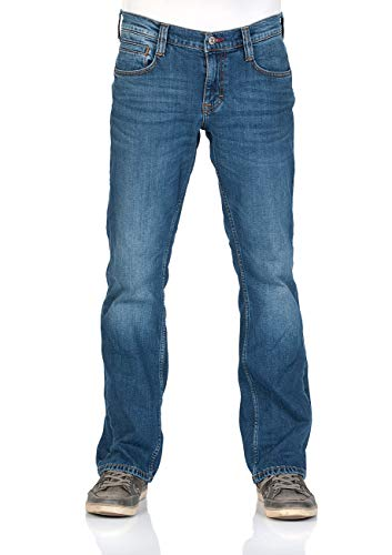 Mustang -  Jeans - Boot Cut - Uomo Medium Blue (702) 38W x 36L