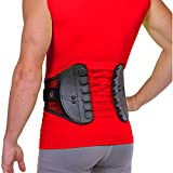 BraceAbility Spine Sport Back Brace - Athletic Men's and Women's Workout Lumbar Corset for Exercising,...