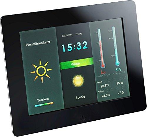 """Intenso Cornice Digitale e Stazione Metereologica 8"""" Weather Star"""