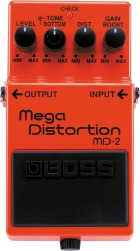 BOSS Mega Distortion Guitar Pedal (MD-2)