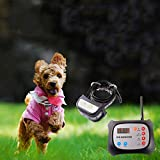 JUSTPET Dog Wireless Fence & Training Collar Outdoor 2-in-1 System, Electric Wireless Fence for Dogs, Adjustable Range Control 1000 Feet, Waterproof Reflective Stripe Collar, Harmless for All Dogs