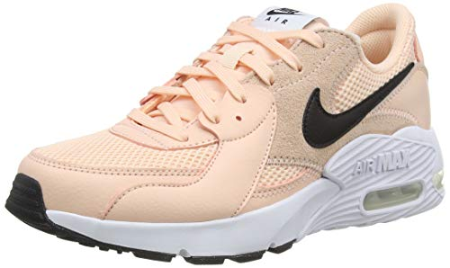 Nike Wmns Air MAX excee, Zapatillas para Correr Mujer, Washed Coral/White/Black, 39 EU