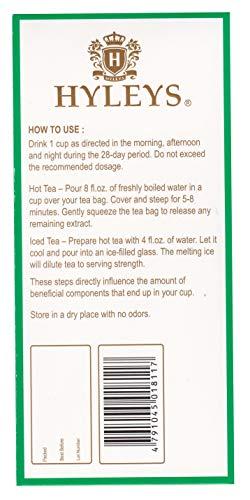 Hyleys Tea 28 Days Detox Kit - 84 Tea Bags - (100% Natural, Sugar Free, Gluten Free and Non-GMO) 8