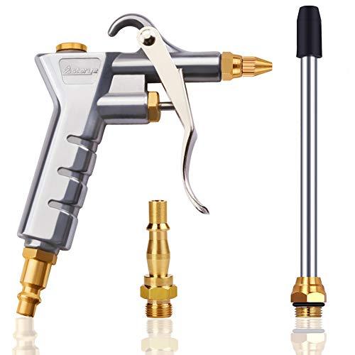 """Astarye Druckluftpistole Luftblaspistole Ausblaspistolen Luftkompressor Staubtuch für 1/4\""""NPT & 1/4\"""" BSP Hochdruck Pressluft Blaspistole Pneumatische Reinigungswerkzeug"""