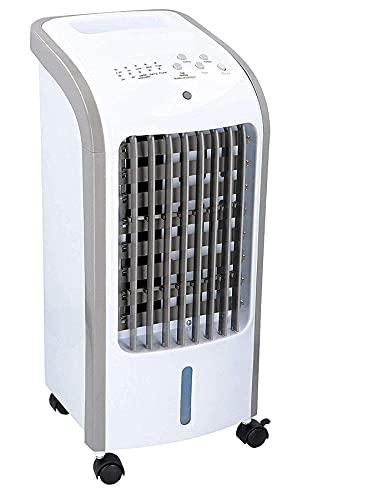 JUNG DUNLOP mobiles Klimagerät mit Wasserkühlung, TÜV geprüft, Mobile Klimaanlage leise, Kühlender Ventilator Mobil