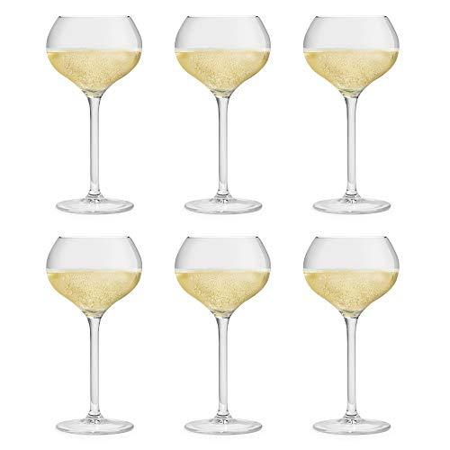 Libbey Bicchiere da Champagne Servan - 29 cl / 290 ml - set di 6 pezzi – lavabile in lavastoviglie