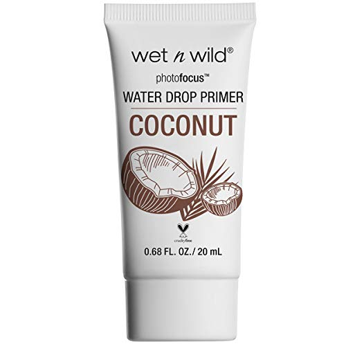 Wet n Wild Photofocus Water Drop Primer - 592A Coconut Dreamin' 0.68 fl oz (Pack of 1)