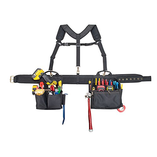 CLC Custom Leathercraft 1608 Electrician's Comfort Lift Combo Tool Belt, 28...