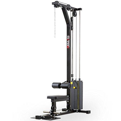 MegaTec Latmachine Latzug Stack-Weight mit 115 kg Gewichtsblock