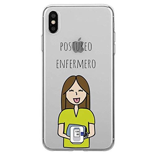 Todo Fundas Compatibles con iPhone, Enfermeria Medico Medica Matrona Enfermero Postureo Enfermera Doctor Doctora Dentista Medicina Salud Carcasa Silicona (iPhone 7 Plus / 8 Plus, 14)