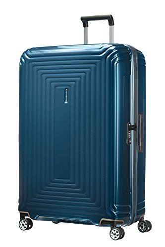 Samsonite Neopulse - Spinner XL Valigia, 81 cm, 124 L, Blu (Metallic Blue)