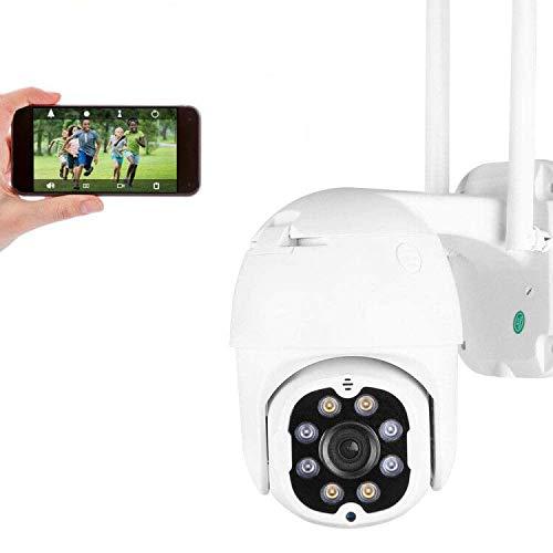 PTZ Telecamera di Sorveglianza Videocamere WIFI Esterno, Aottom 4MP IP Cam Senza Fili 355° /90°, 40M Visione Notturna, Audio a 2 Vie, Motion Detection, Messaggio Push, Supporta Scheda SD 128G