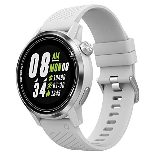 Apex Premium Multisport GPS Watch - White/Silver - 42mm